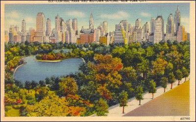 Vintage 1940, Central Park, www.RevWill.com