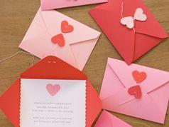 Sobres sellados con corazones en Manualidades para la papelería del hogar, fiestas y eventos