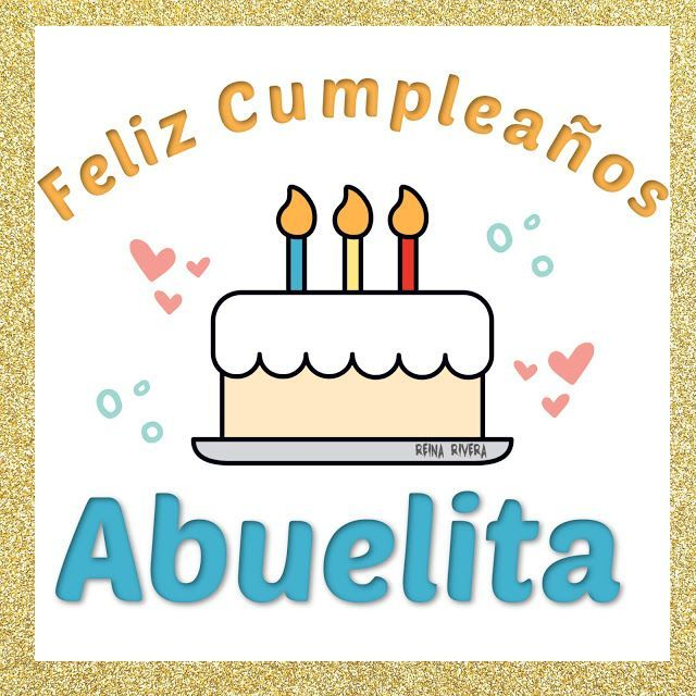 Feliz Cumpleaños Abuelita