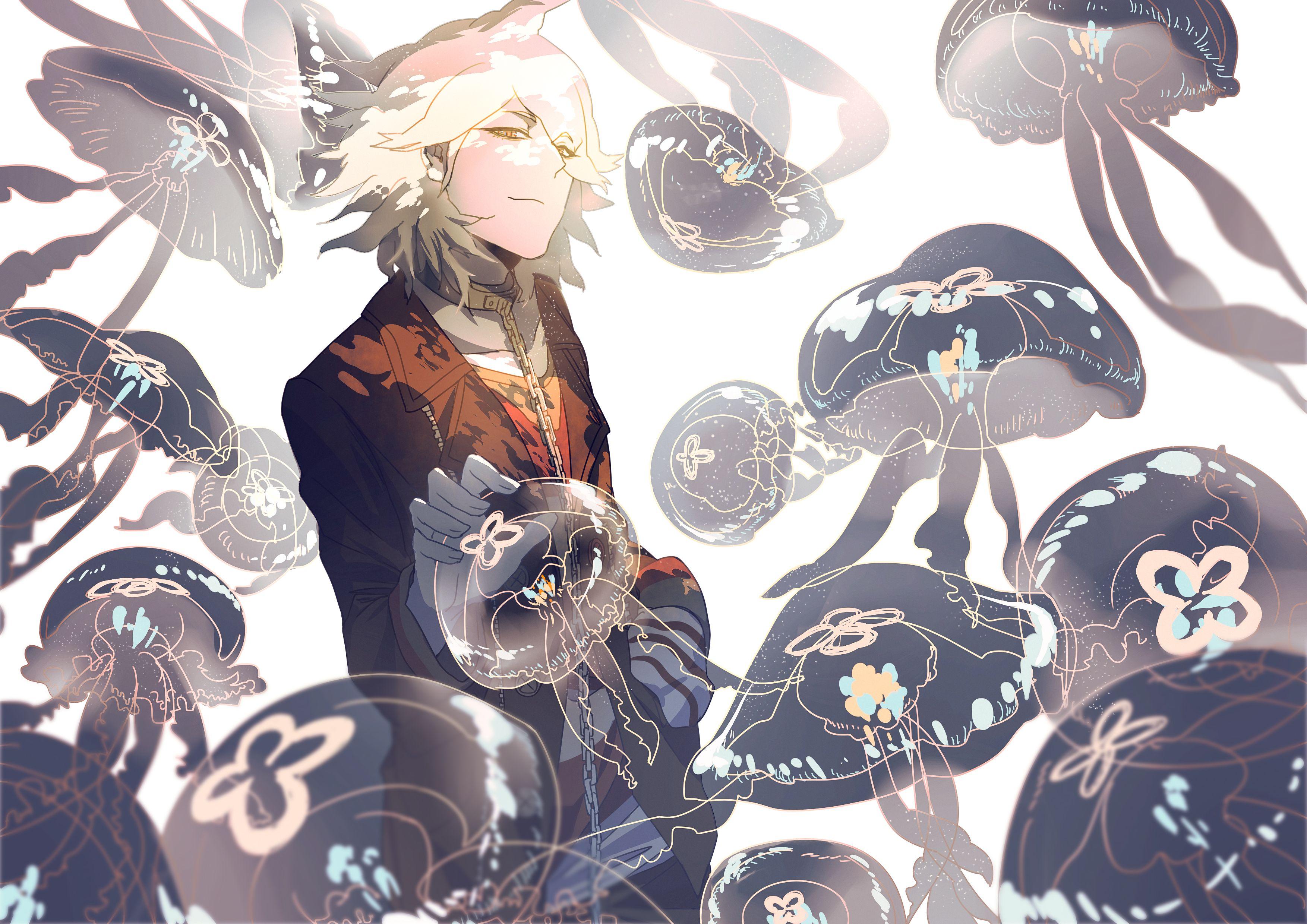 Komaeda Nagito Danganronpa, 1080p wallpaper, Hd wallpaper