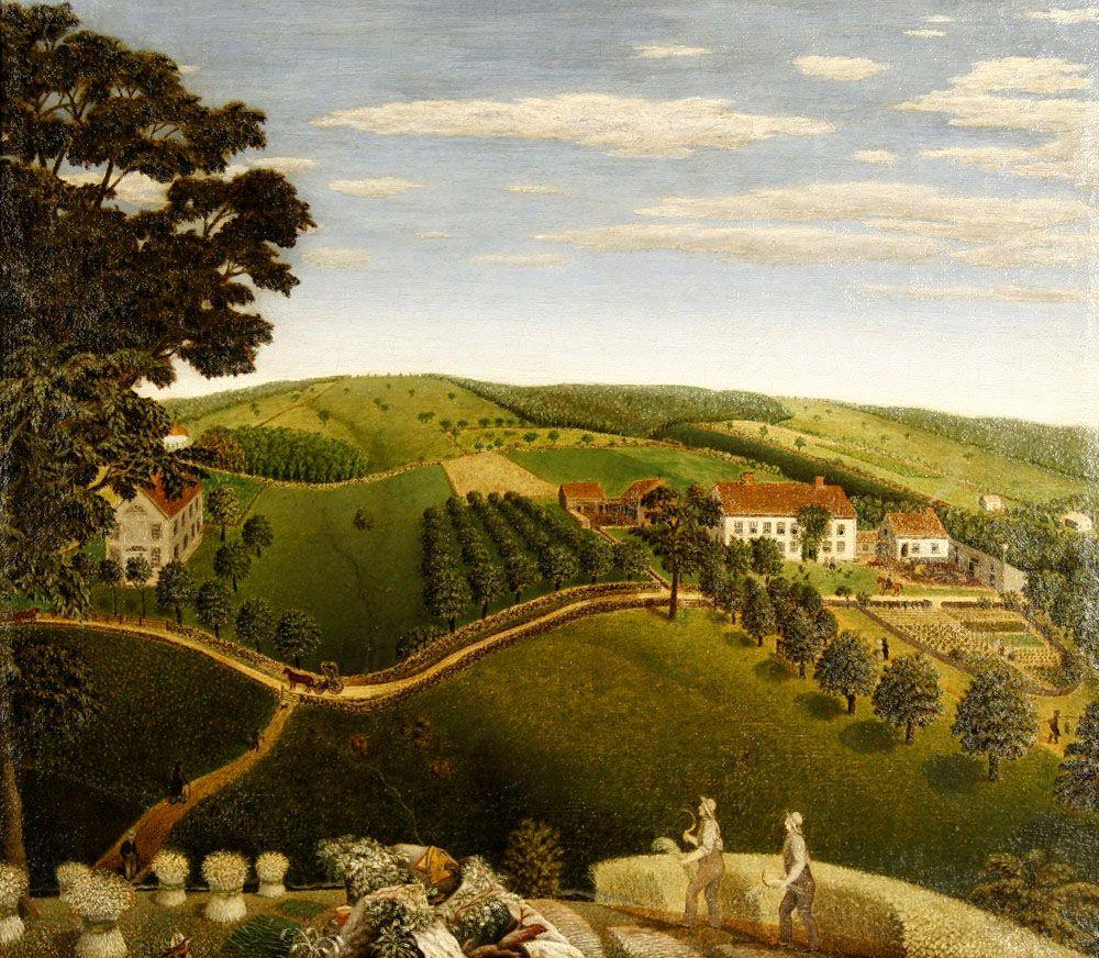 Sold Joan R. Brownstein American Folk Paintings