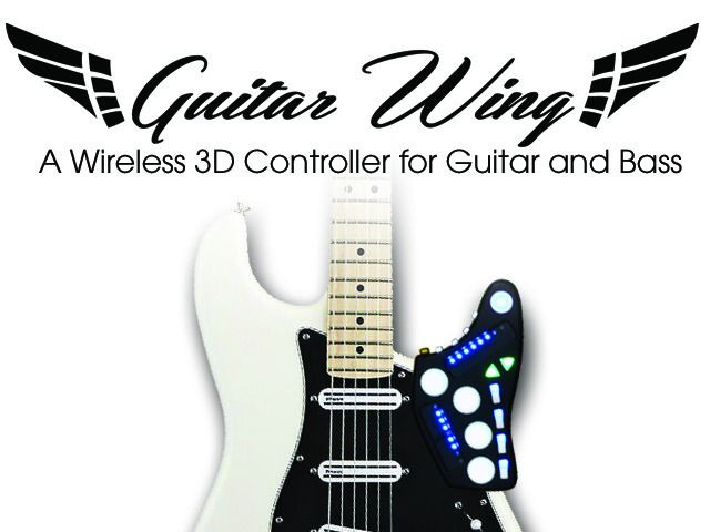 Guitar Wing: Wireless Control Surface for Guitar and Bass by Livid Instruments — Kickstarter