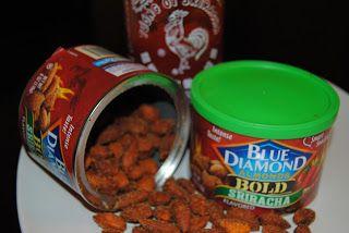 Life According To GreenVics: Sriracha Almond Stuffed Peppers #Recipe @BlueDiamo...