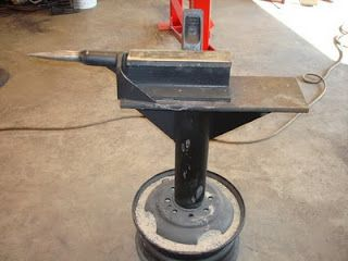Ed's Metal Creations: Homemade Anvil