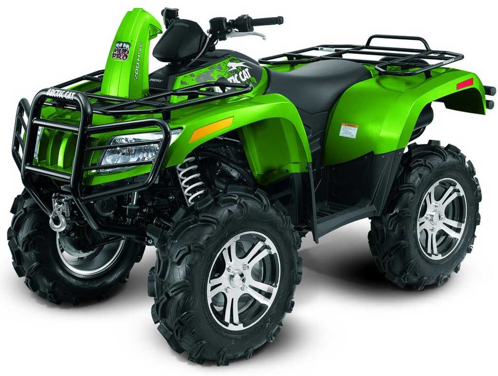 Arctic Cat 700 H1 EFI 4x4 Mud Pro ATV ATV Towing