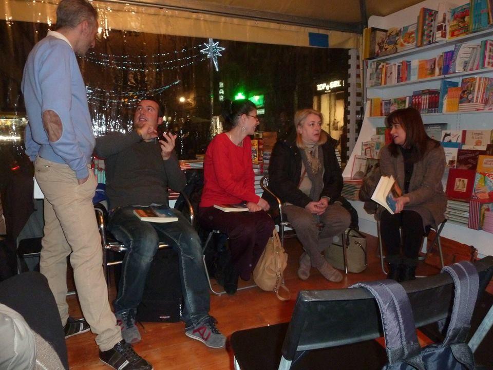 """Presentazione dell'antologia """"Racconti toscani"""" alla """"Via dei Libri"""" a Firenze. 10/12/2014"""