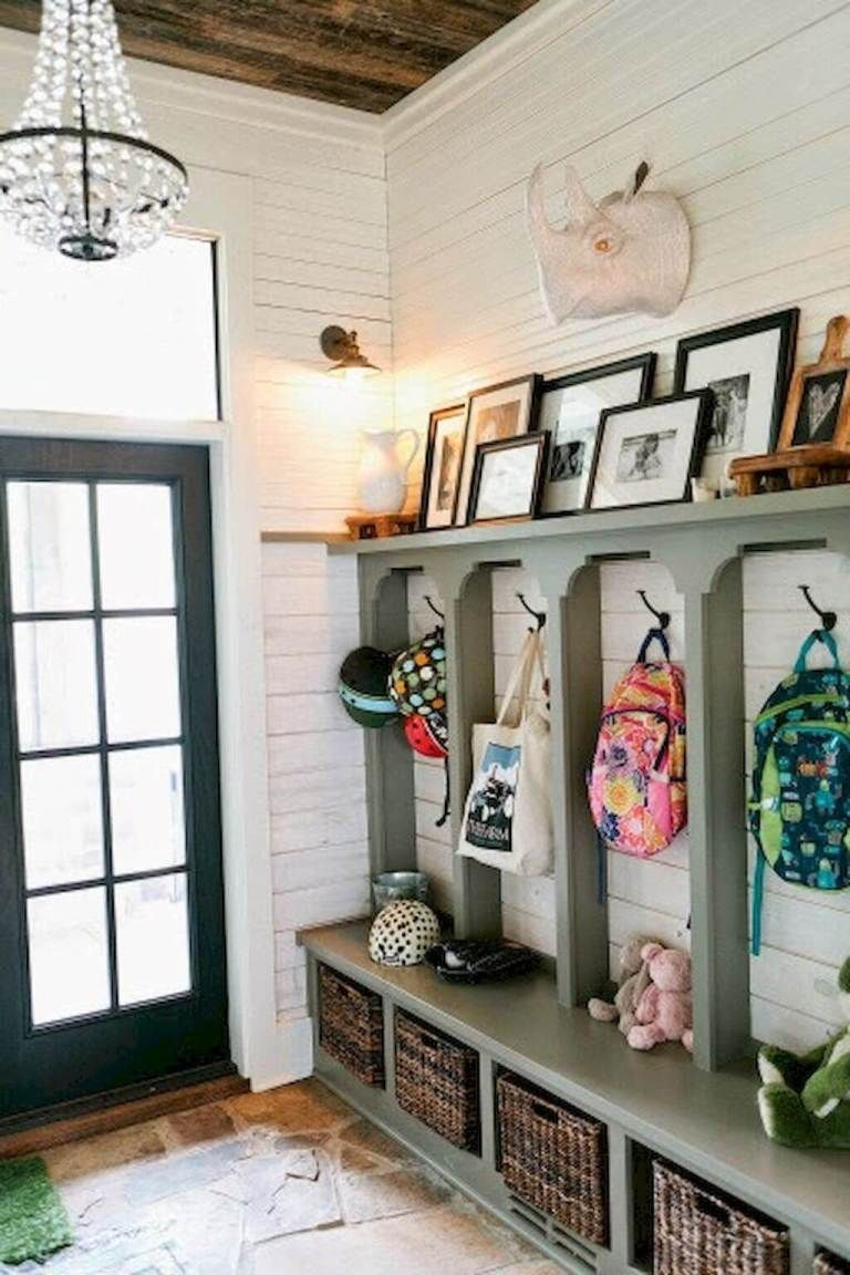 Diy Mudroom Organization Ideas Locker Bench Garage
