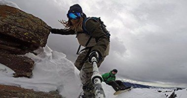 """GoScope BOOST - Telescoping Extension Pole / Monopod for GoPro® Cameras: Expands 13"""" out to 26"""" (Arctic Camo)"""