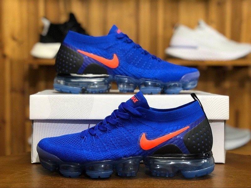 new product 1bd9e 73b75 Nike Air VaporMax Flyknit 2 Racer Blue Total Crimson-Black 942842-400 Sz 10   fashion  clothing  shoes  accessories  mensshoes  athleticshoes (ebay link)