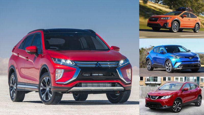 2018 Mitsubishi Eclipse Cross vs other small SUVs