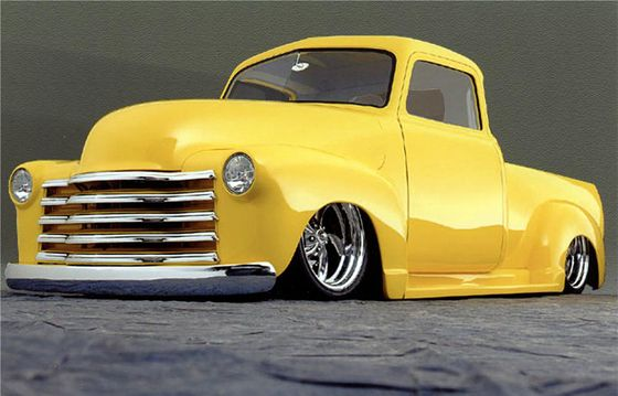 1953 Chevy Because Who Needs Groundclearance Custom Classic