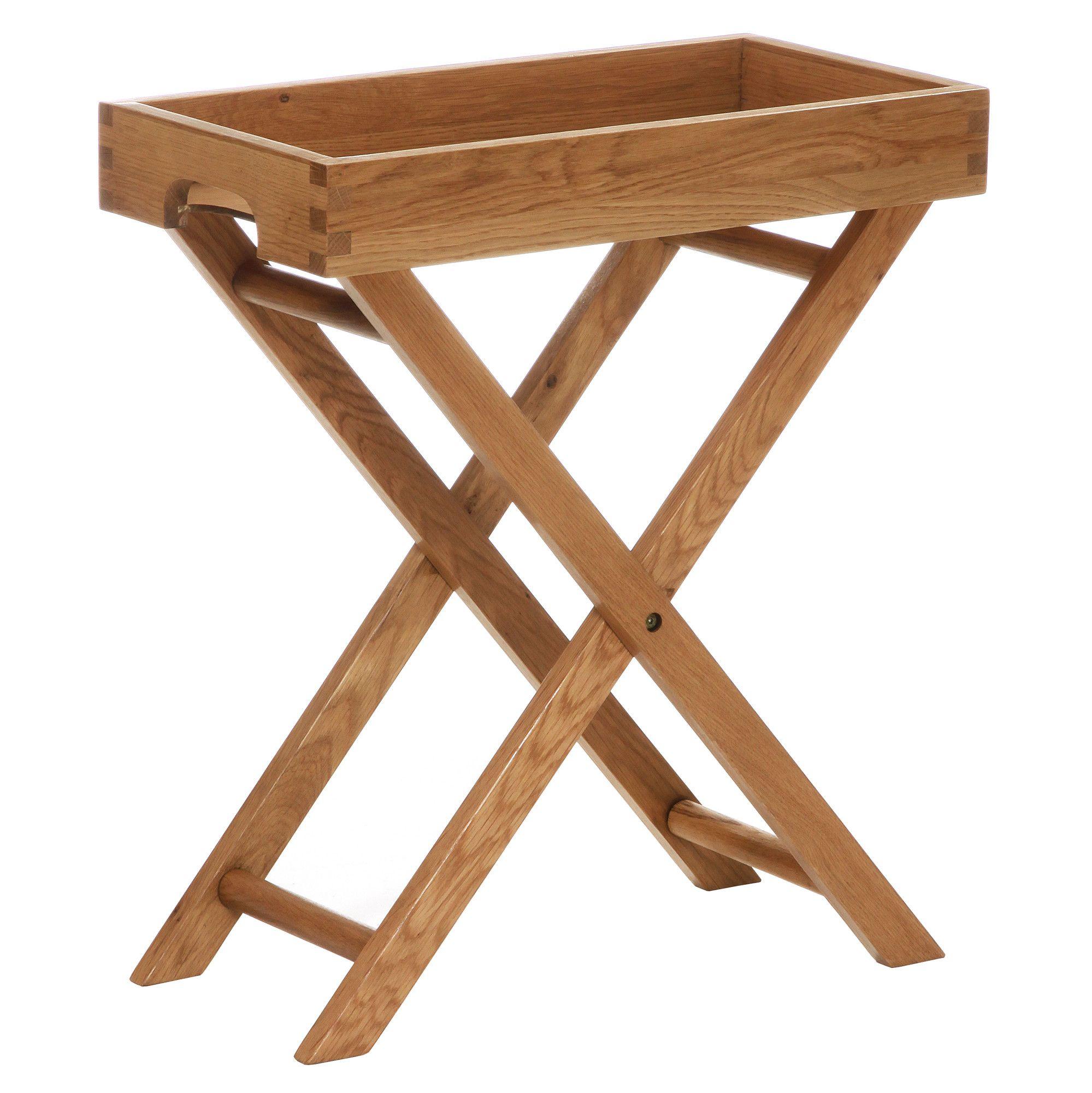 Millais Petite Tray Table Butler Table Butler Tray White Table Lamp