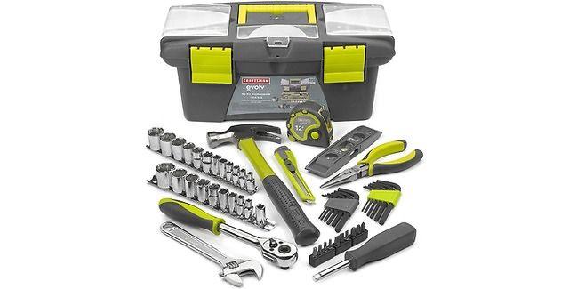 Craftsman Evolv 52 Pc Homeowner Tool Set 31 29 Sears Com