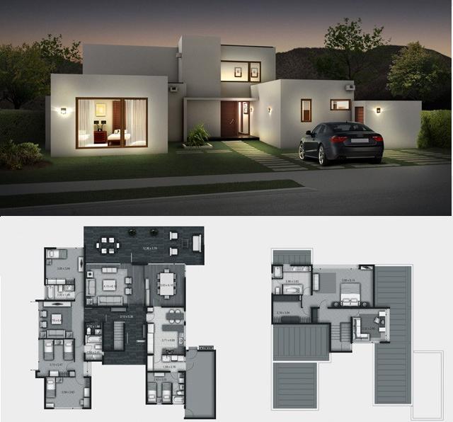 Dise o de casas construccion de casas materiales for Casas minimalistas planos arquitectonicos