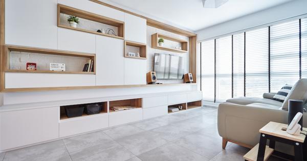 Woonkamer Van Muji : House tour renovation for this muji inspired four room
