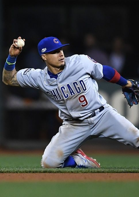 5309a831f Javier Baez, CHC//Oct 11, 2016 Game 4 NLDS at SF | Cubs | Cubs ...