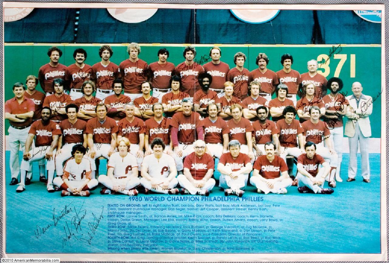 1980 Philadelphia Phillies World Series Champions