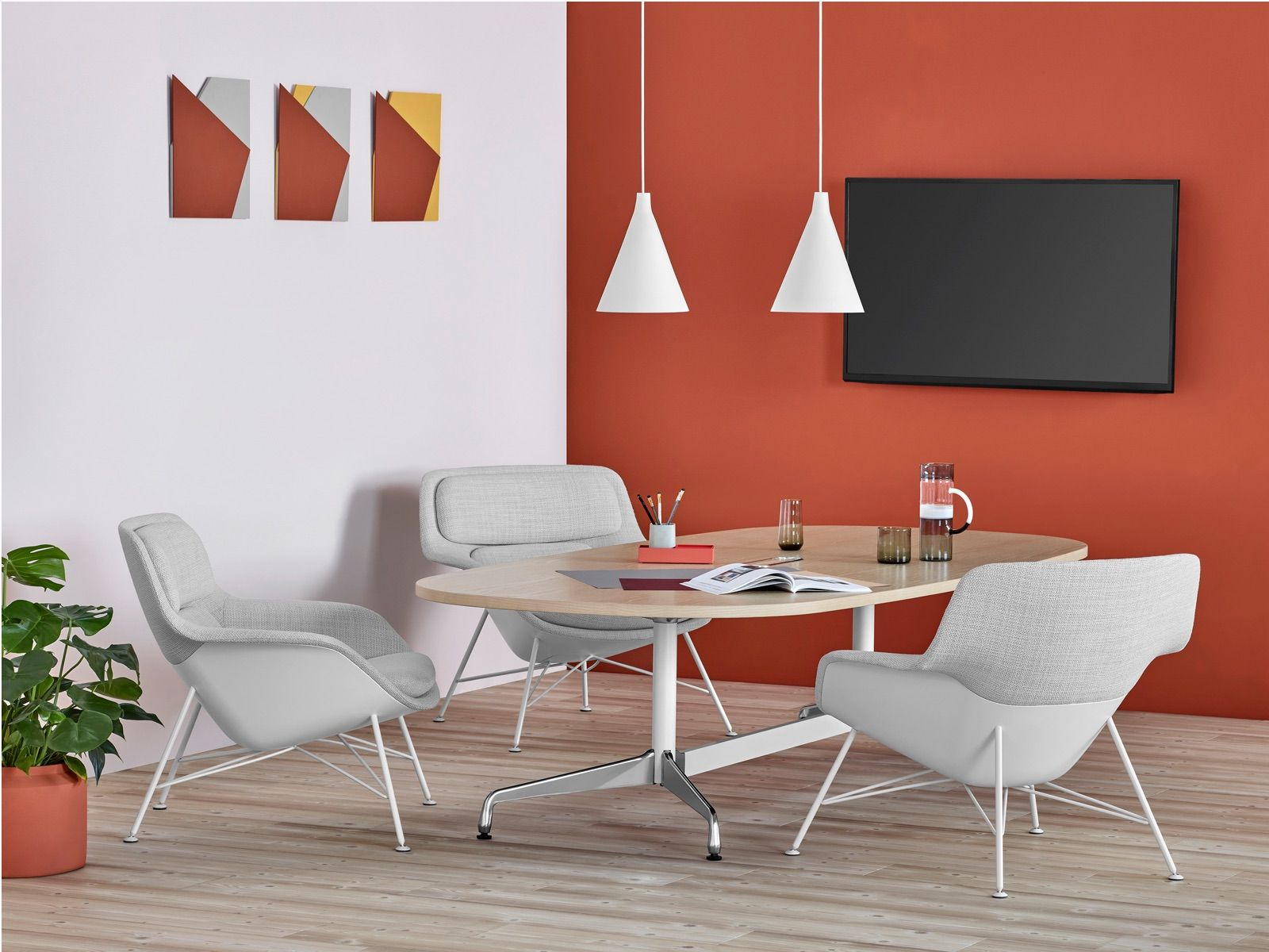 Striad Lounge Seating Herman Miller Chair and