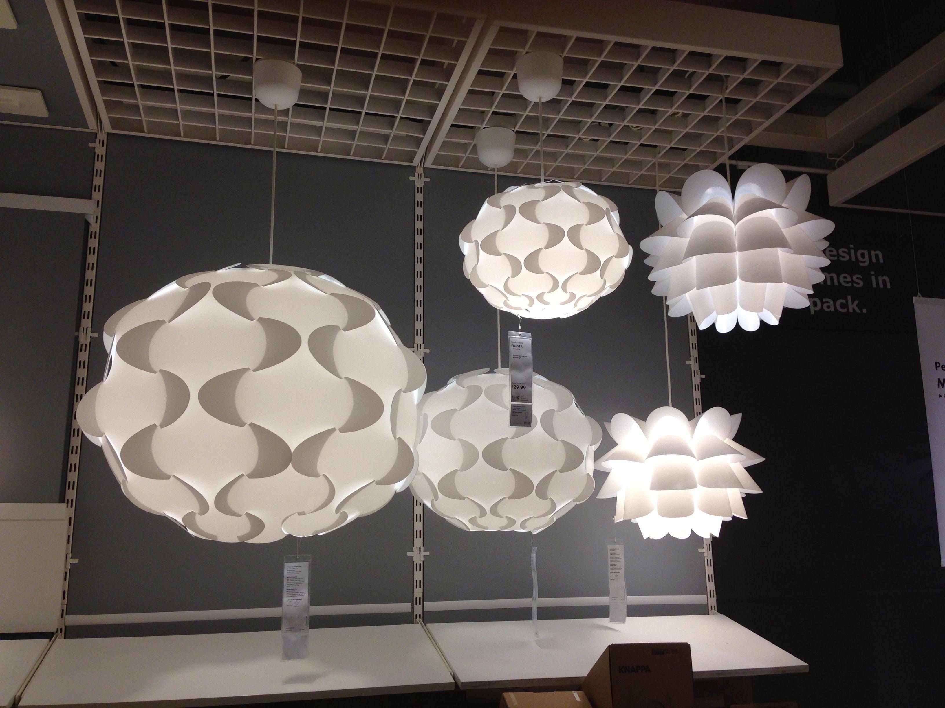 cool ikea lighting ideas | IKEA lights....they do have a really cool lighting ...