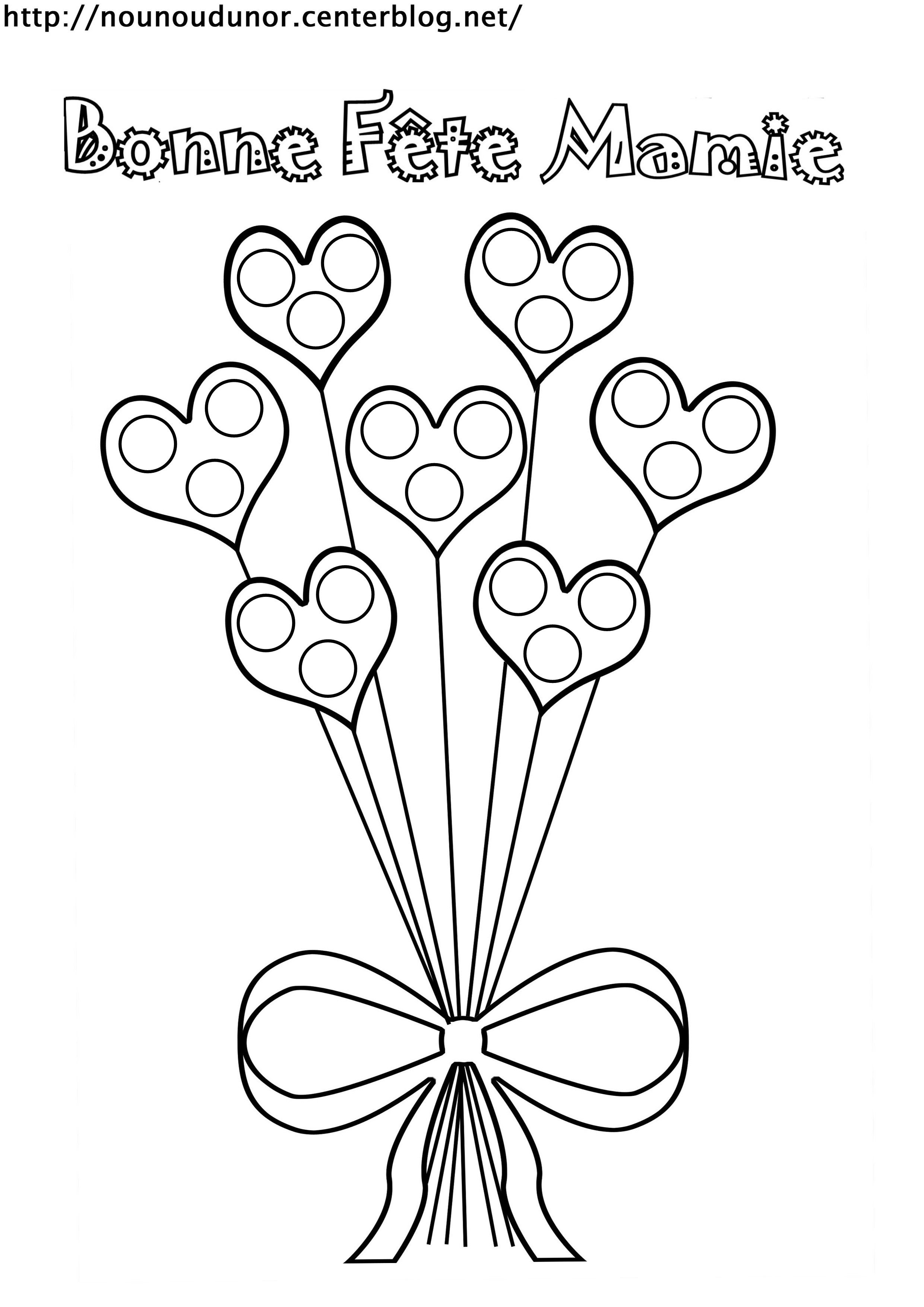 Liste De Mes Coloriages Pour La Fete Des Mamies Fete Des Mamies Coloriage Coeur Coloriage Noel A Imprimer