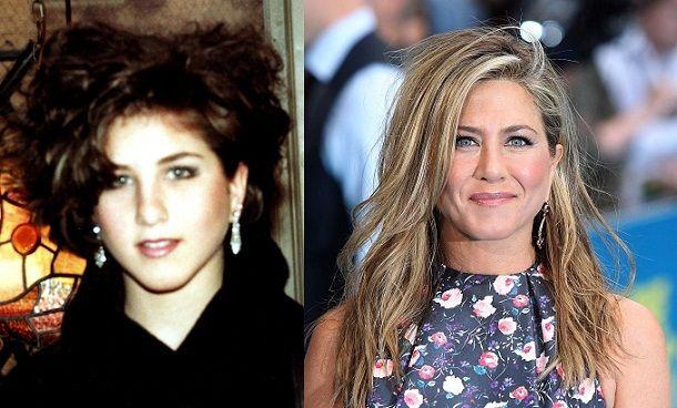 Jennifer Aniston--THEN & NOW