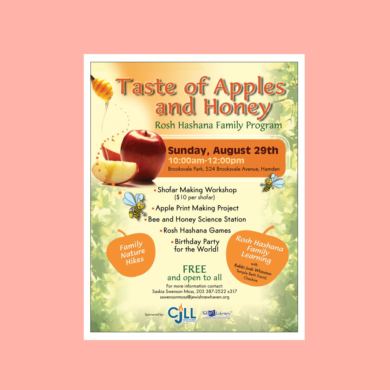 Party memorable taste of apples and honey rosh hashanah family memorable taste of apples and honey rosh hashanah family program invitation template rosh hashanah online card and invitation templates to check out kristyandbryce Choice Image