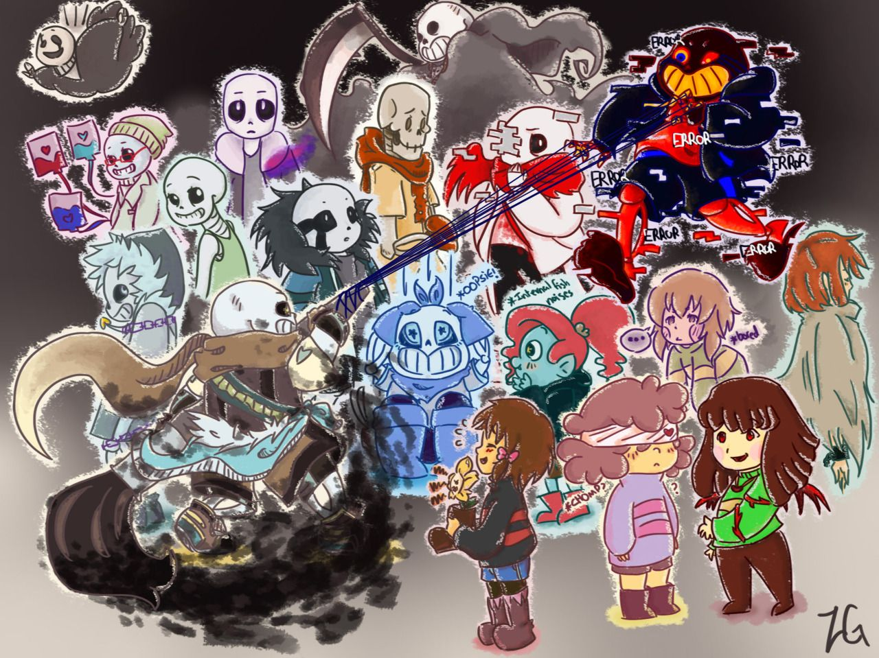 Jakei95 Judgyknowitall To All The Amazing Undertale Au