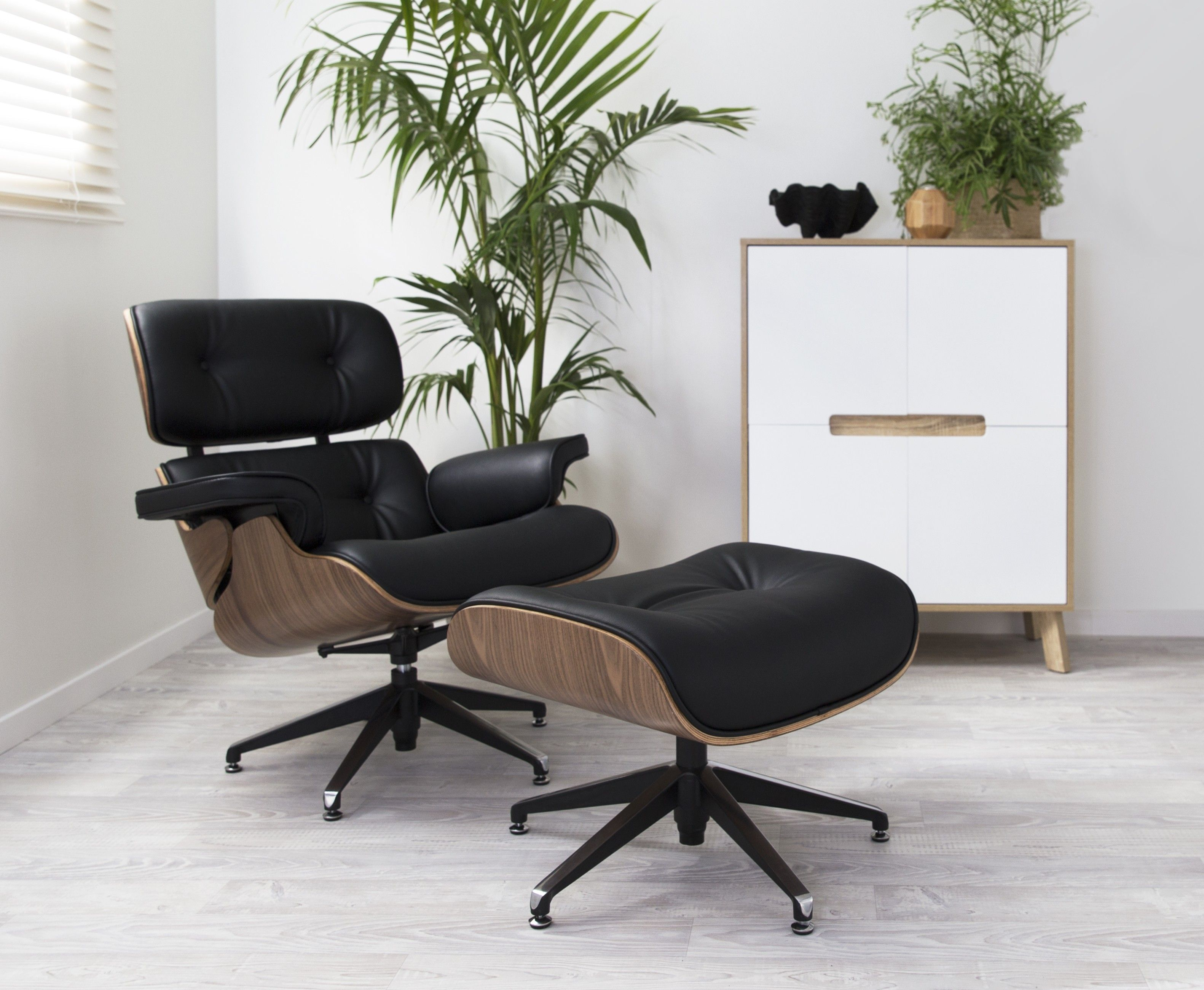 Amazing Replica Eames Lounge Chair Ottoman Guest Room Chair Caraccident5 Cool Chair Designs And Ideas Caraccident5Info