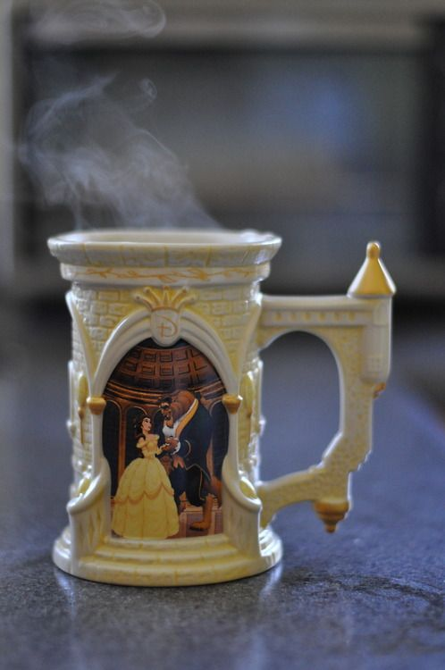 Beauty And The Beast Mug I Love It How Could You Not Smile While Drinking From This Disney Cups Disney Mugs Mugs