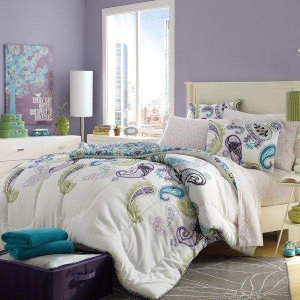 Zoe 8 Piece Dorm Kit Bed Bath & Beyond. love this but