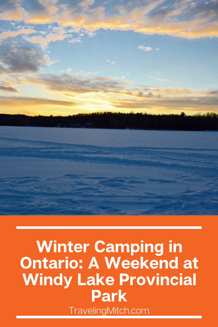 Winter Camping in Ontario A Weekend at Windy Lake