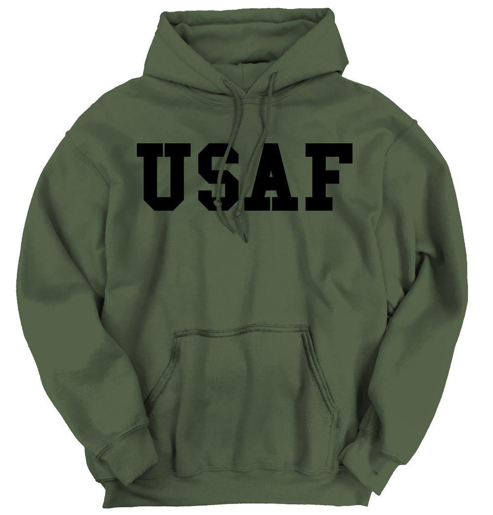 Usaf Logo Hoodie Hoodies Hooded Sweatshirts Air Force Sweatshirt [ 1043 x 1000 Pixel ]