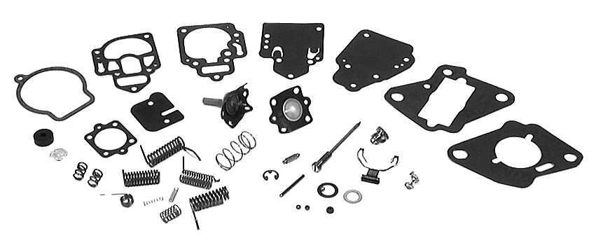 1395-823707 2 - Carburetor Repair Kit, Float NOT included | Boat
