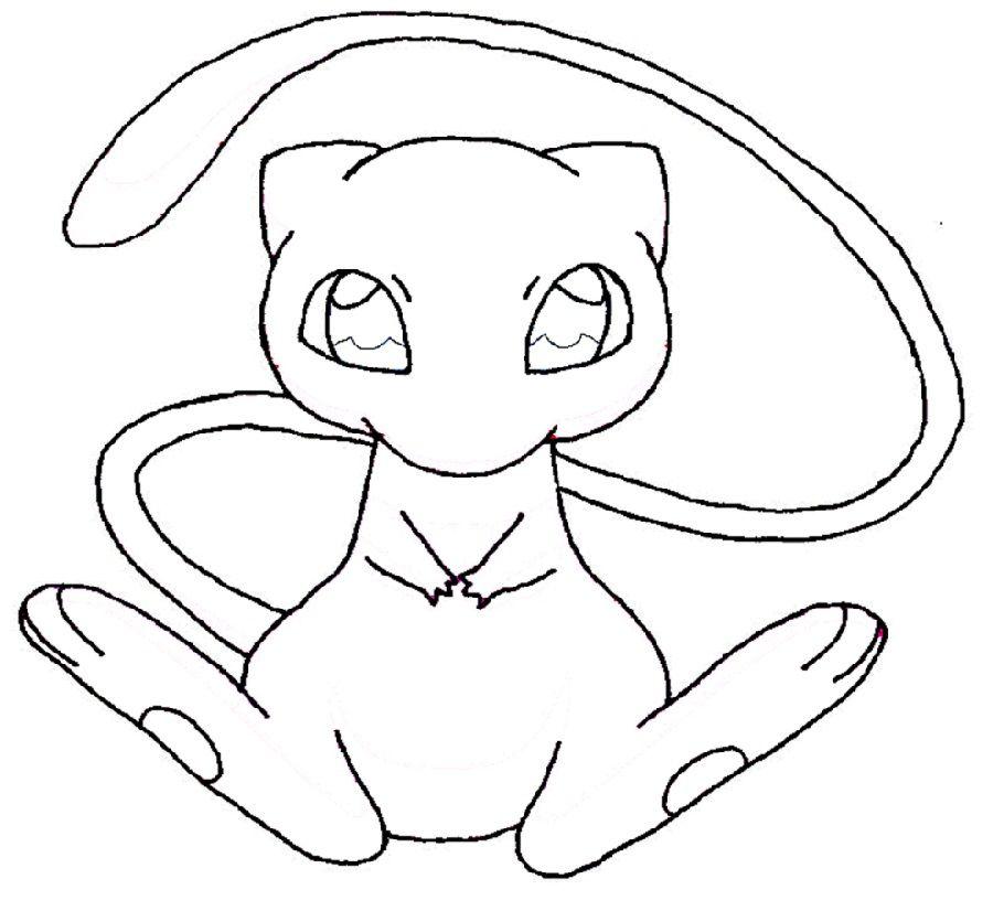 Pokemon Mew Coloring Page Pokemon Coloring Pages Pokemon Coloring Pokemon Mew