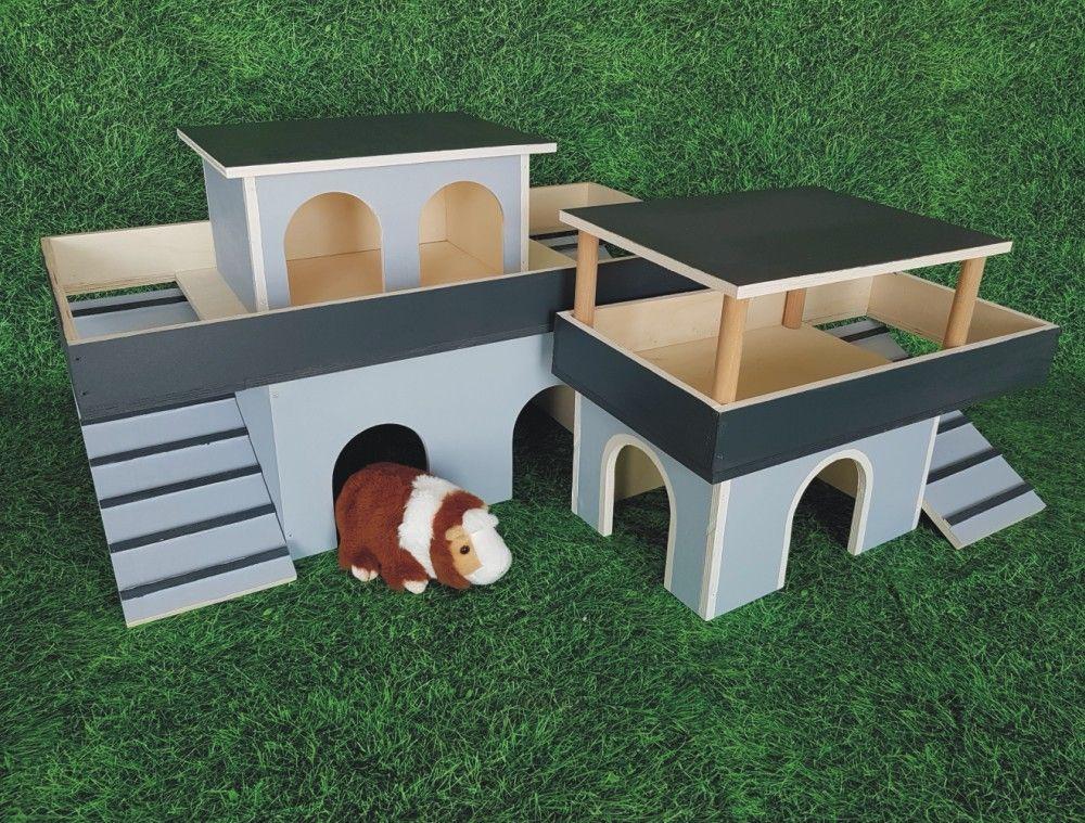 Meerschweinchen Haus Bauen