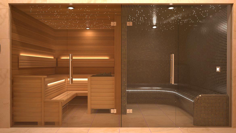 Nordic Domestic Sauna