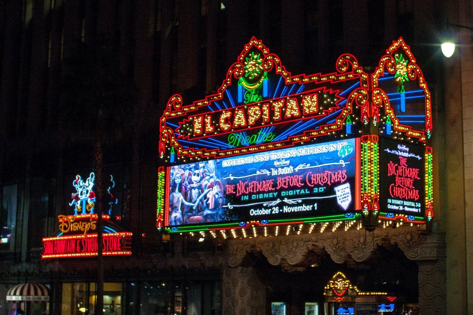 El capitan theater in los angeles always great disney fun