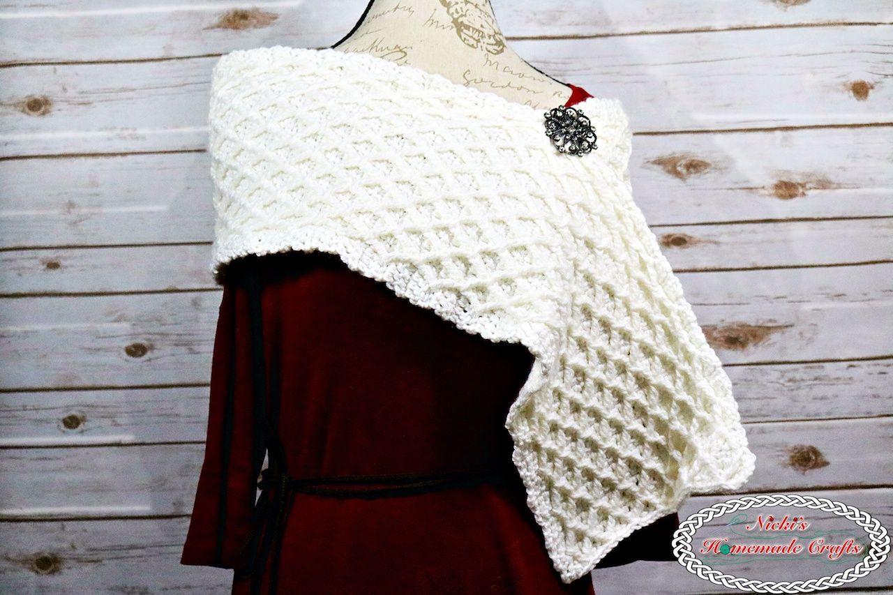 Lattice Scarf - Free Crochet Pattern | TNT Community Board | Pinterest