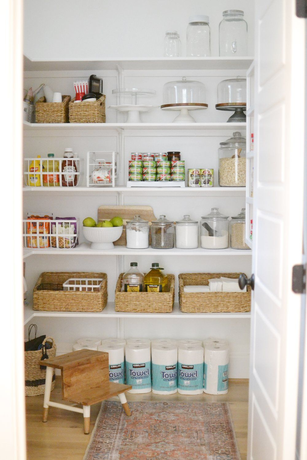 Our Walk In Pantry Organization Kitchen Drawers Pantry Shelving Walk In Pantry Canned Good Storage