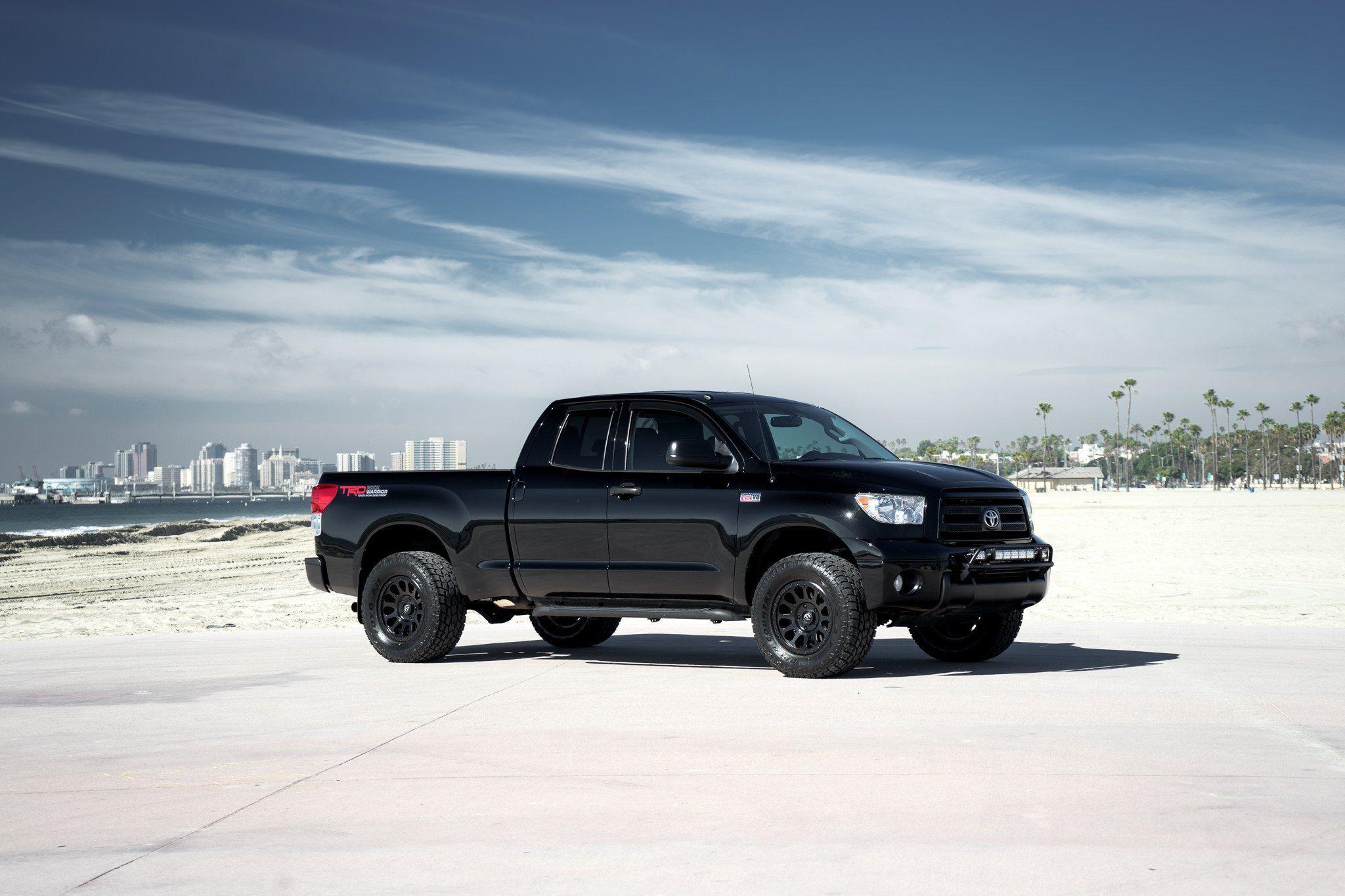 AllBlack TRD Tundra on Fuel Vector Wheels in 2020