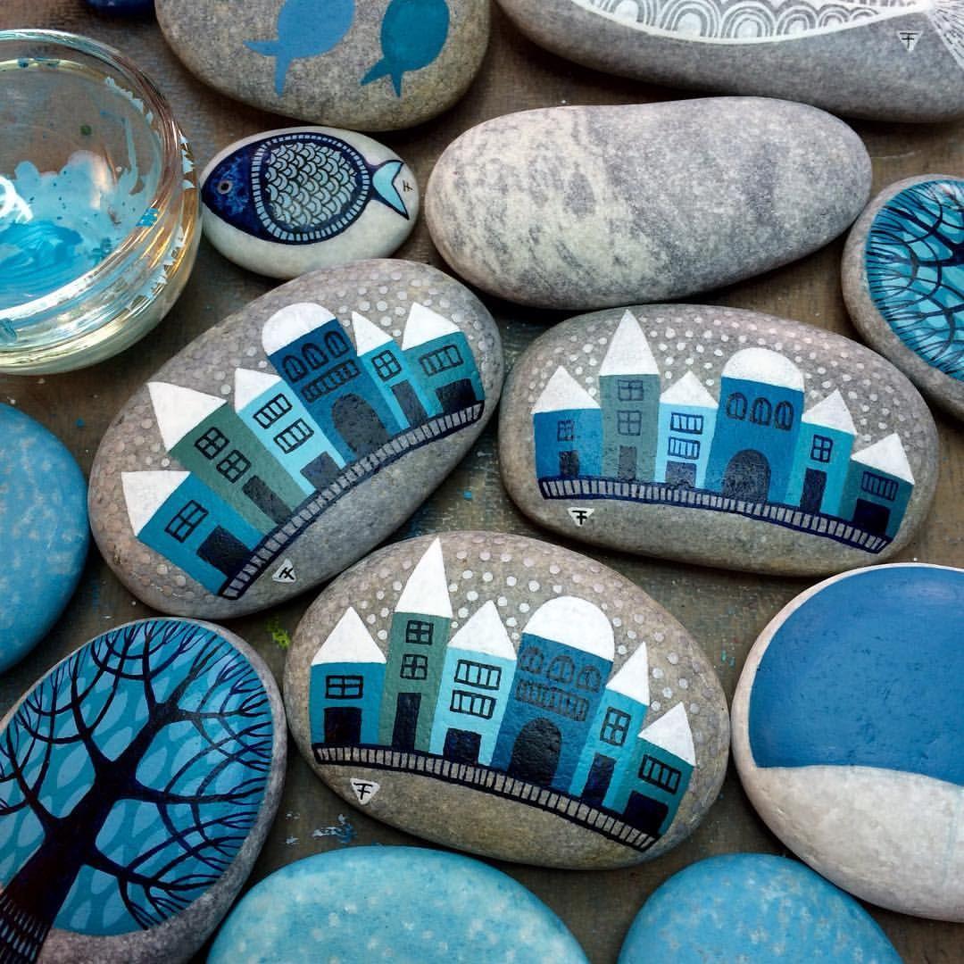 #paintedstones #piedraspintadas #sassidipinti #taşboyama #ink #inkart #schminke #aerocolor #winsorandnewton #turquoise #teal #ayvalikisleri #ayvalikartsandcrafts #zeustones #steinebemalenkinder