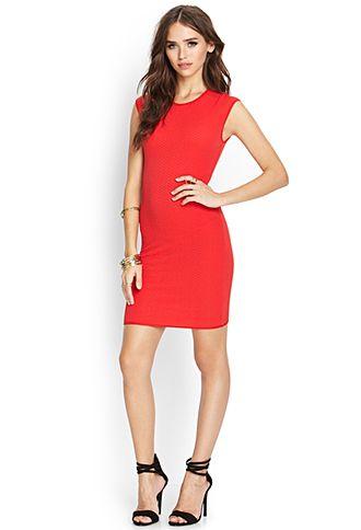 51d5c08bd1 Chevron Textured Knit Dress