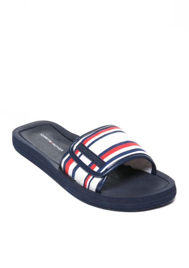 cfe32ac7 NIB! Tommy Hilfiger Mysha Slide Sandal Size 7 #TommyHilfiger #Slides ...