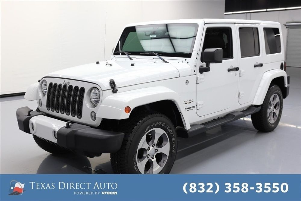 eBay Jeep Wrangler Sahara Texas Direct Auto 2016 Sahara