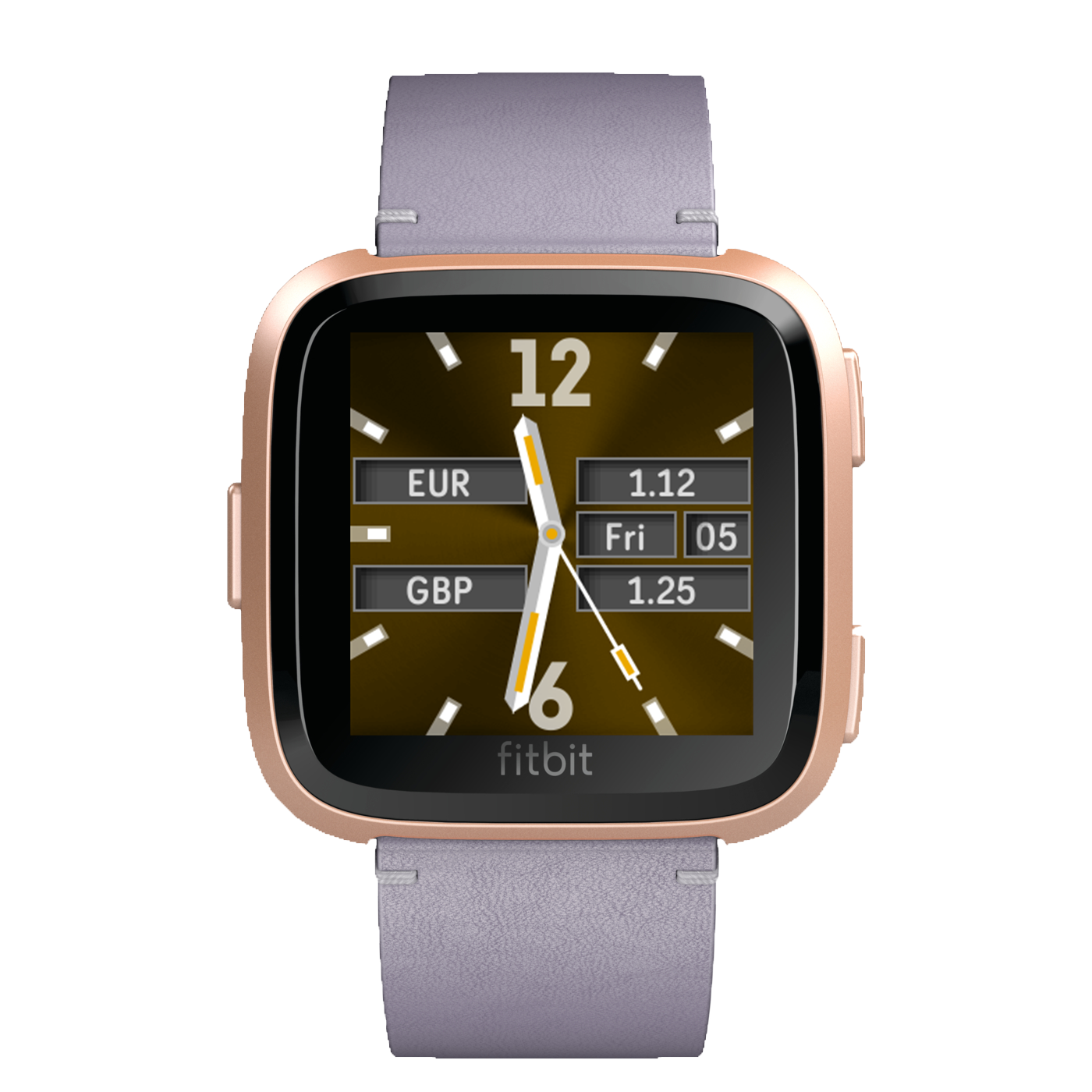 www.watchfacestore.com has amazing #fitbit #watchfaces. Get to know the King - Forex. An elegant des...