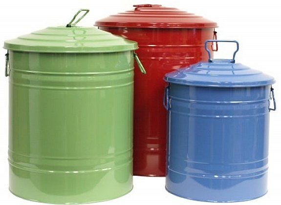 colorful decorative dog food storage containers ideas