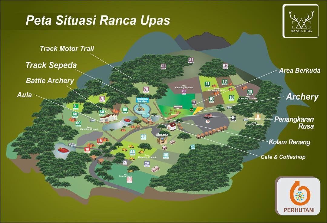 Peta Area Wisata Ranca Upas Bandung, Image From @ranca_upas di