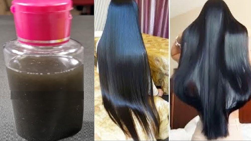 بمكون مذكوربالقرآن سيغلبك شعرك من شدة الكثافة والطول بللي شعرك به لساعة واحدة علاج للشيب Youtube