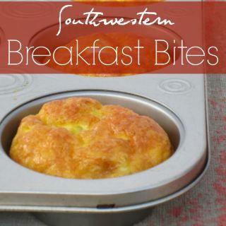 Southwestern Breakfast Bites