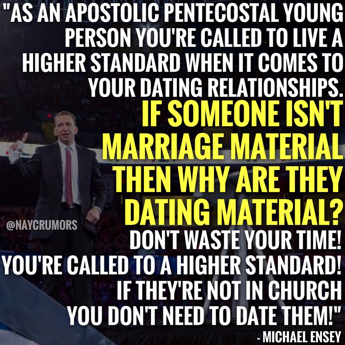 6 Dating Standards for Apostolic Singles